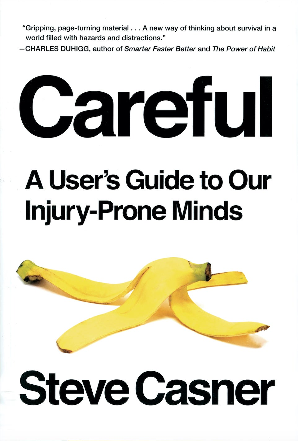 Careful book cover