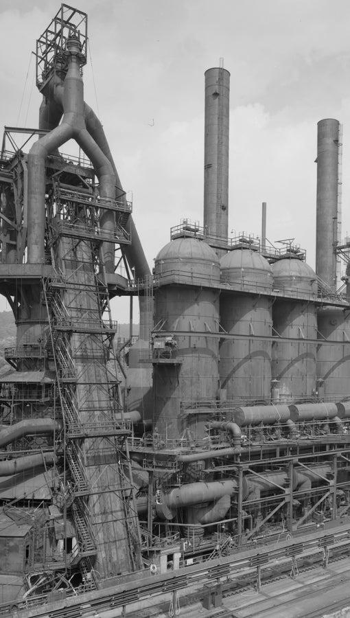Blast Furnace Plant at U.S. Steel Homestead Works along the Monongahela River