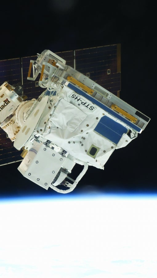 SHREC's STP-H5 computer on the International Space Station.