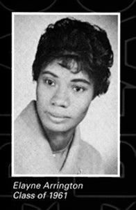 Elayne Arrington's Pitt yearbook photo from 1961