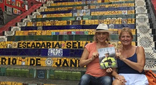 Selaron Steps in Rio de Janeiro, Brazil