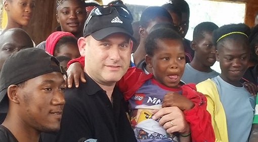 Shawn Brown in Haiti