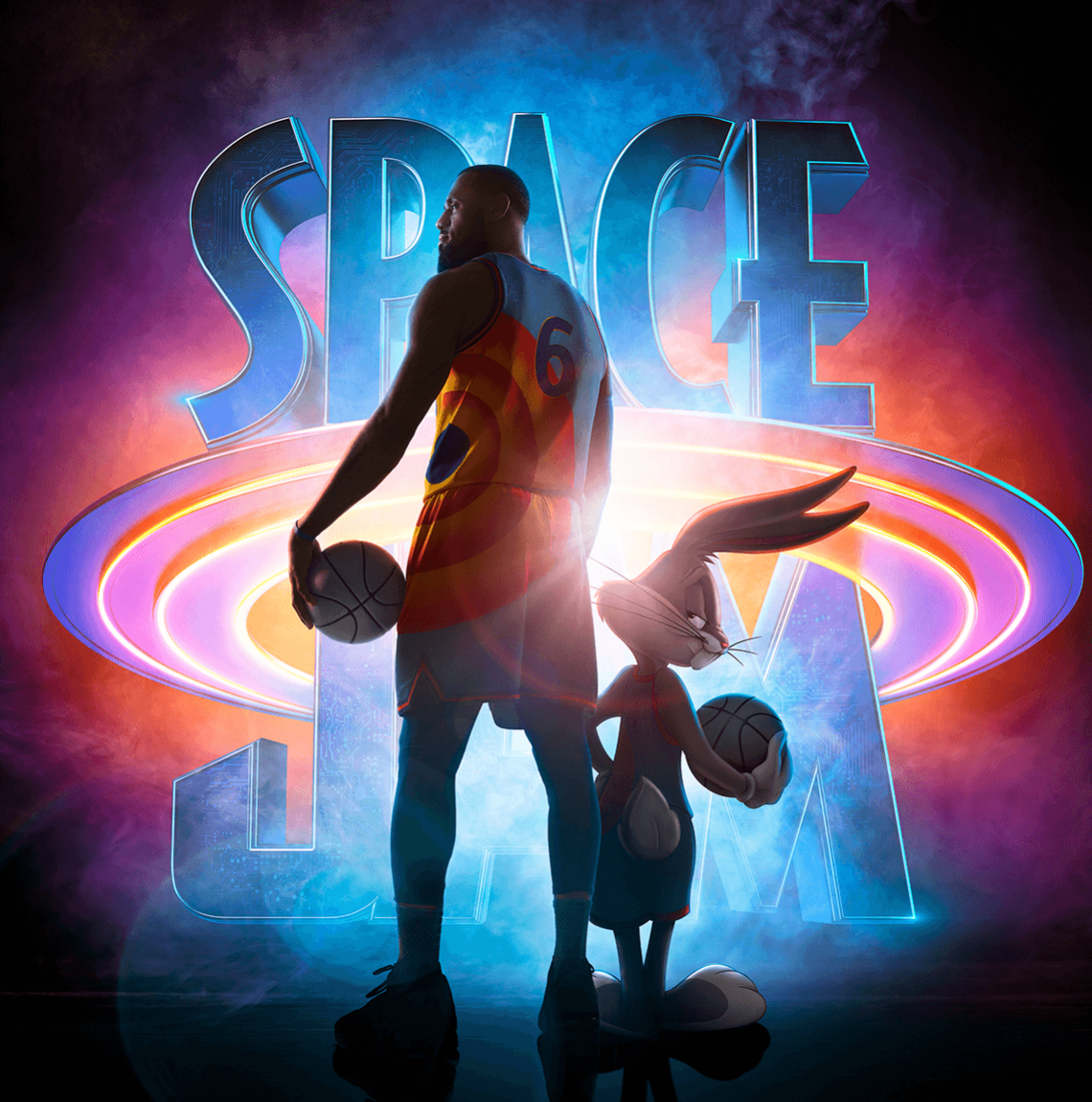 Space Jam: A New Legacy movie poster, courtesy of Warner Bros. Pictures
