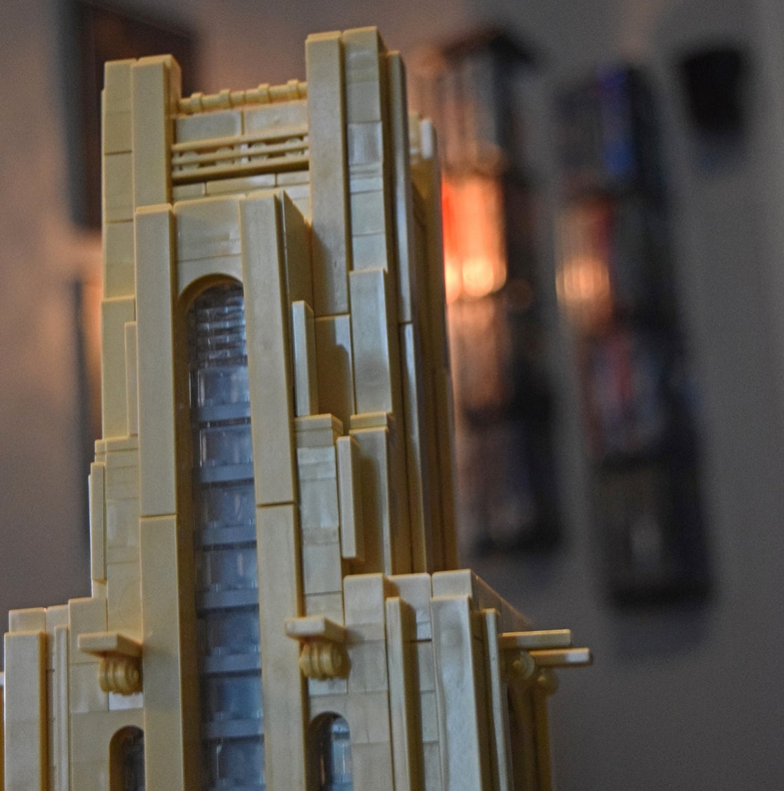 Top of the LEGO Cathedral of Learning